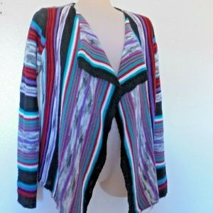 Cato Shirts & Tops - Cato Girls XL 16 Open Cardigan Sweater Long Sleeve